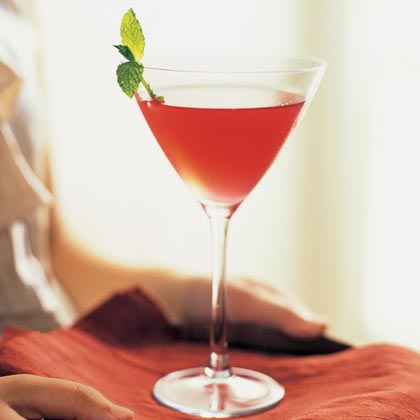 Cranberry-Mint Infusion - Sophisticated New Years Eve champagne alternative
