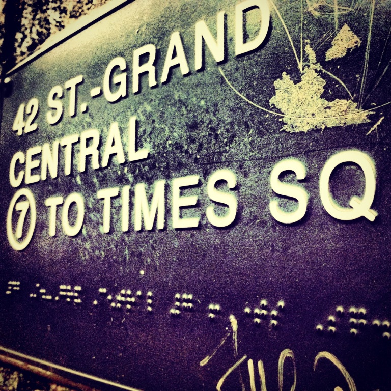 42 ST. - Grand Central to Times SQ